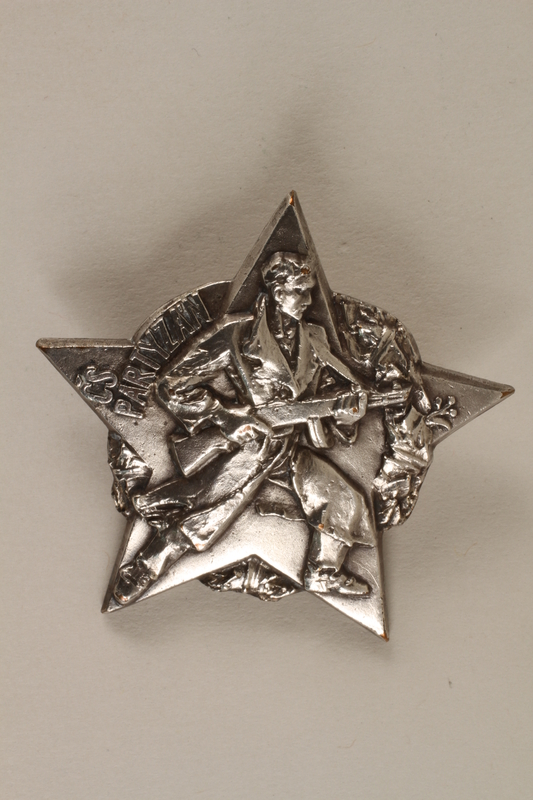 1989.7.10 front Czech Partisan medal awarded to a Jewish fighter