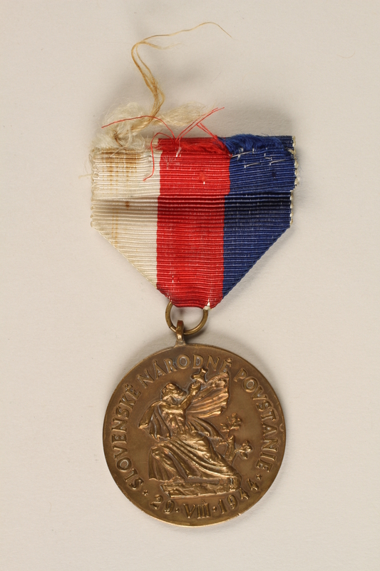 1989.7.11 front Commemorative Medal of The Order of the Slovak National Uprising
