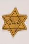Star of David badge printed Jood worn by German Jewish boy