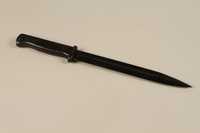 1989.297.1_a front Knife bayonet owned by a Danish resistance member  Click to enlarge