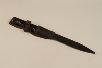 1989.297.1_a-b closed Knife bayonet owned by a Danish resistance member  Click to enlarge