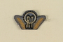 ORT shoulder badge owned by the Director, ORT vocational schools, DP camps