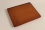 Monogrammed leather binder made for Director, ORT vocational schools, DP camps