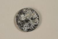 1999.300.2 back Łódź (Litzmannstadt) ghetto scrip, 5 mark coin  Click to enlarge