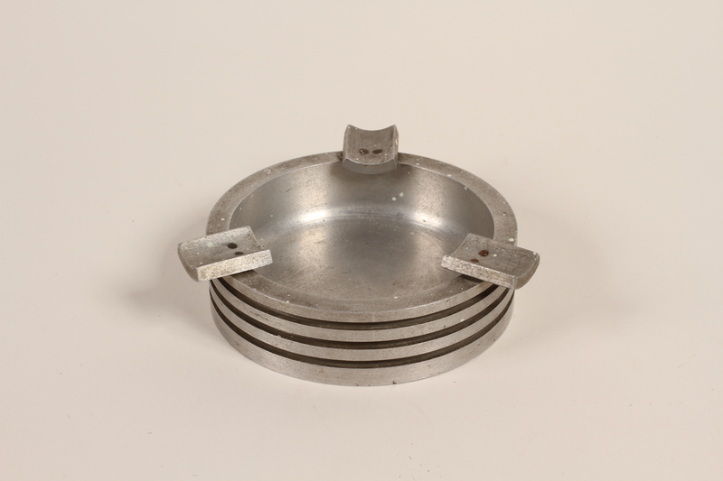 1988.112.59 front Piston head ashtray made for concentration camp commander found by US military aid worker