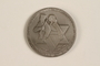 Israeli medallion with case issued to commemorate Jewish resistance during WWII