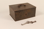 Strongbox and 2 skeleton keys used by a Dutch resistance member