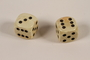 Pair of dice carried by a Dutch resistance member