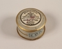 Mignot-Boucher face powder box marked Rachel with a Star of David label