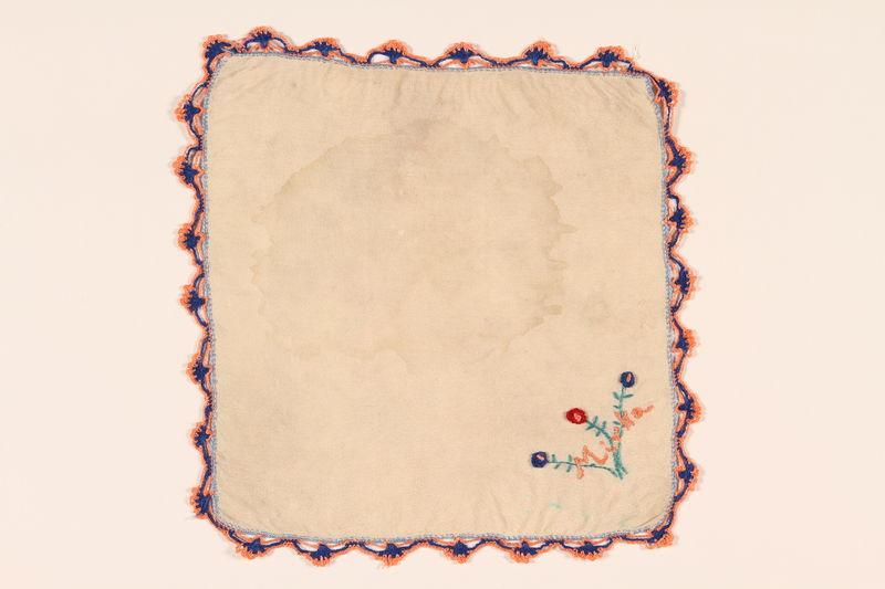 2002.523.3 front Handkerchief