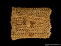 Small straw purse made in Gurs internment camp for a German Jewish prisoner