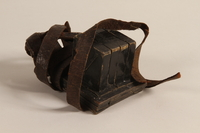 2004.410.1 a front Set of tefillin acquired by a Soviet Jewish soldier  Click to enlarge