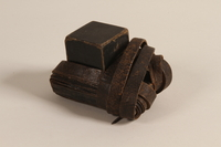 2004.410.1 b front Set of tefillin acquired by a Soviet Jewish soldier  Click to enlarge