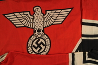 2000.610.1 detail Nazi banner  Click to enlarge