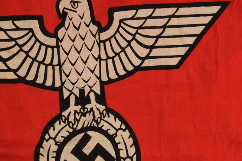2000.610.1 detail Nazi banner