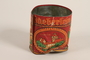 Haeberlein-Metzger almond lebkuchen red lidded tin brought to the US by a German Jewish refugee
