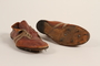Running shoes worn by a German Jewish runner in pre-Olympic training