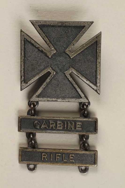 1998.126.2 front Military badge