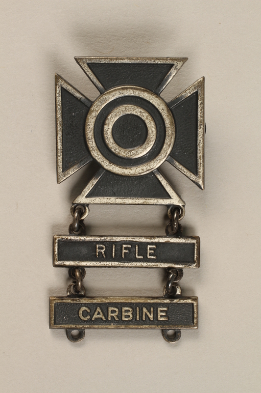 1998.126.3 front Military badge
