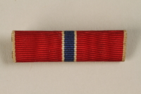 1998.126.11 front Military ribbon bar  Click to enlarge