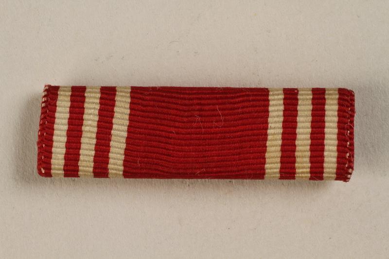 1998.126.12 front Military ribbon bar