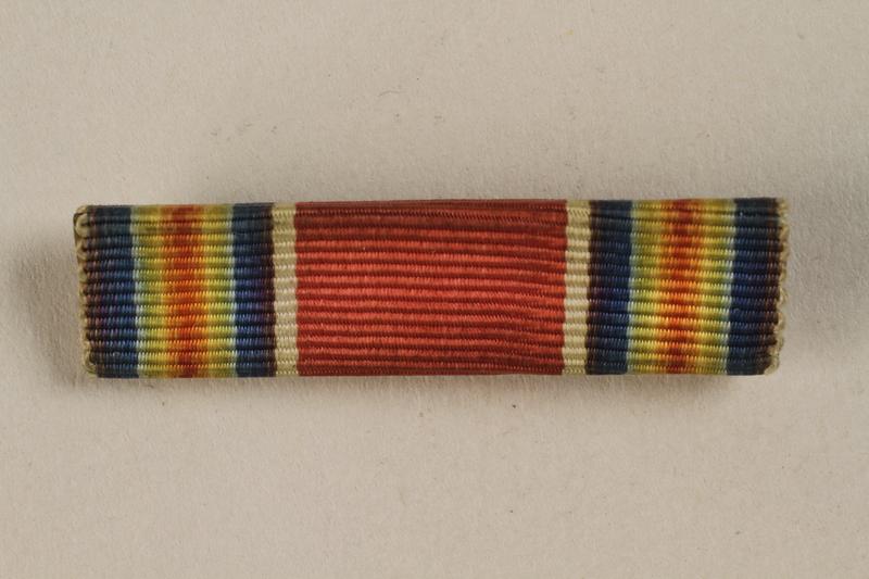 1998.126.13 front Military ribbon bar