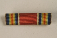 1998.126.13 front Military ribbon bar  Click to enlarge