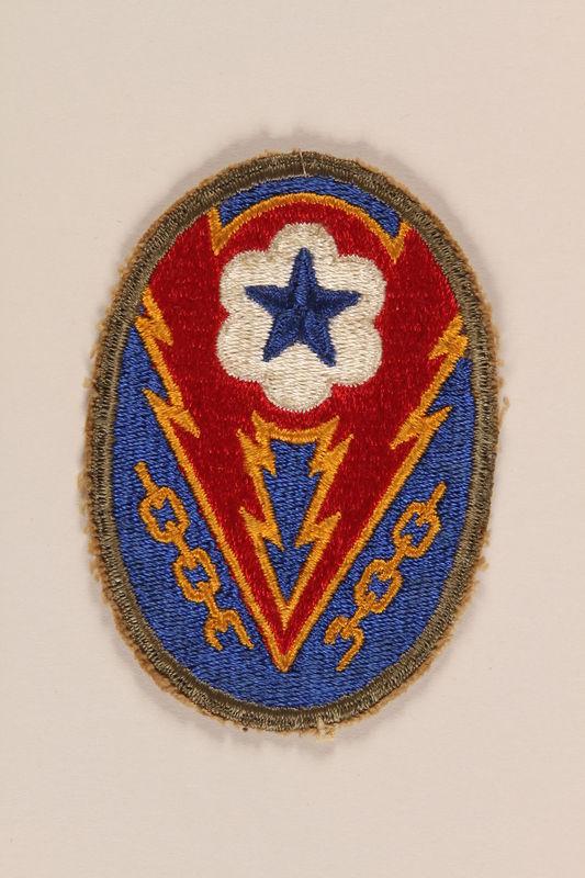 1998.126.15 front Shoulder badge