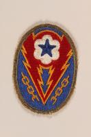 1998.126.15 front Shoulder badge  Click to enlarge