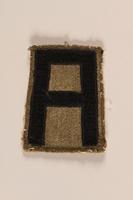 1998.126.16 front Shoulder badge  Click to enlarge