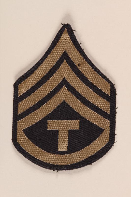 1991.126.17 front Shoulder badge