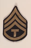 1991.126.17 front Shoulder badge  Click to enlarge
