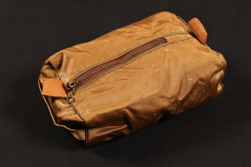 1998.126.19 front Kit bag used by a US soldier