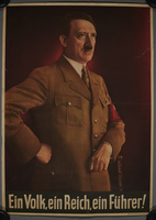 2000.219.11 front Hitler election campaign poster  Click to enlarge