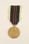 Medal de la Resistance Armee 1940-1945 medal and ribbon awarded to a Belgian resistance fighter