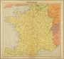 Map of France owned by a Dutch Jewish boy while living in hiding