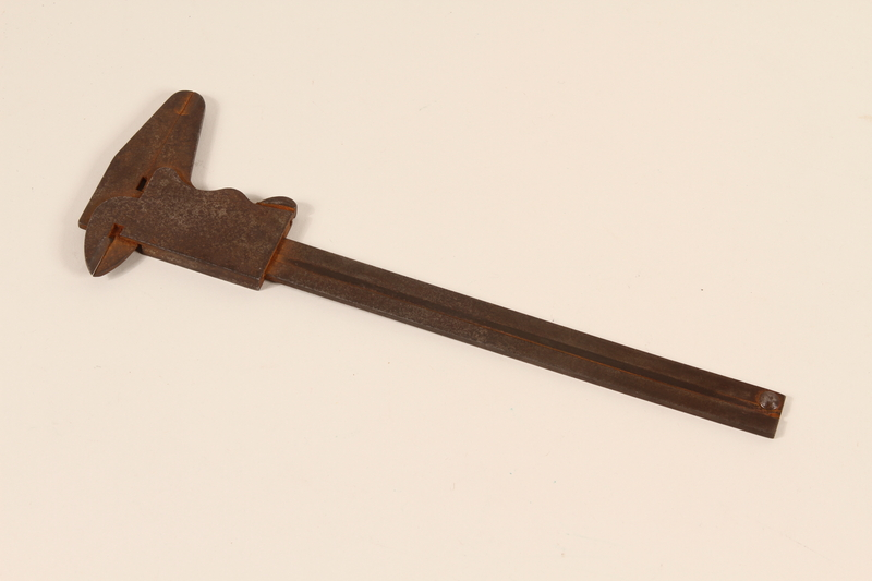 2004.702.3 front Vernier calipers used by a Jewish Polish worker in Oskar Schindler's armament factory