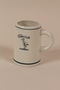 International Military Tribunal Stork Club white porcelain mug