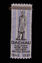 Commemorative ribbon for the 50th anniversary of Dachau concentration camp