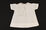 Short sleeved white embroidered infant's dress