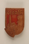 Pin commemorating 700th anniversary of the city of Gera, Germany