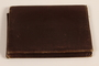 Brown leather billfold used by a Latvian Jewish refugee and aid worker from Nazi Germany