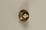US Army soldier's 5-pointed star shaped gold pin