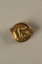 Honorable Service lapel button, US Military, that belonged to a US soldier