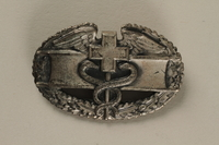 2005.416.9 front US Army Combat Medical award pin owned by a US soldier  Click to enlarge