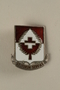 Sterling US 46th Medical Battalion pin that belonged to a US medic