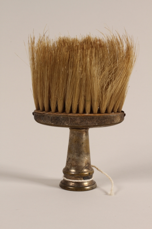 2005.457.34 front Barber's brush used in a concentration camp