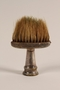 Barber's professional brush used in a concentration camp