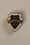 Shanghai Paper Hunt Club lapel button owned by a German Jewish businessman in Shanghai