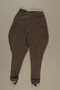 Brown jodhpurs with stirrups owned by a German Jewish businessman in Shanghai